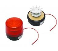 26-427 sirena su šv.diodais ir magnetu 12VDC/140Ma