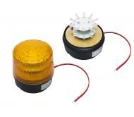 26-429 sirena su šv.diodais ir magnetu 12VDC/140Ma