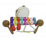 26056620 perkusinių instrumentų rinkinys, 7 dalių
