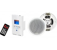 30-300 instaliacinė garso sistema USB/SD/MC/AUX/Bluetooth 110V/230V 2x 15Wrms