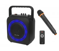 """30-350 įkraunama garso sistema su mikrofonu Bluetooth/USB/SD/FM/AUX, 100W 6.5"""""""