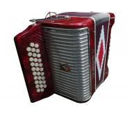 31K12B armonika raudona
