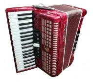 37K80BS akordeonas raudonas
