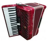 37K96BS akordeonas raudonas