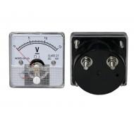 51-215 analoginis voltmetras su šuntu 0-15V 51x51x11mm