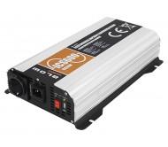 58-631 automobilinis konverteris 12V/230V 600W sinusoidinis su USB lizdu