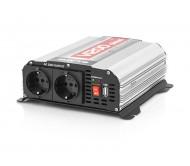 58-641 įtampos keitiklis 24V/230V - 600W taisyklingos sinusoidės su USB lizdu 0.5A
