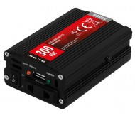 5880 įtampos keitiklis kompaktiškas 12V/230V 300W