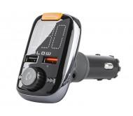 74-154 FM siųstuvas su laisvų rankų funkcija, BT/USB/SD, QC3.0, 12V/24V