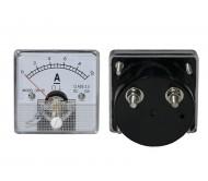 9658 analoginis ampermetras su šuntu, 0-10A DC