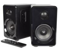 ABS35BLK garso kolonėlių su stiprintuvu ir Bluetooth pora