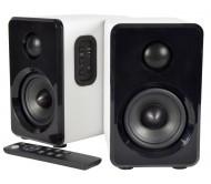 ABS35WHT garso kolonėlių su stiprintuvu ir Bluetooth pora
