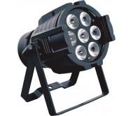 AC-L170 prožektorius 7x 10W RGBW LED, 25 laipsn. spindulys