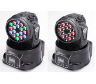 AC-L1809A šv. efektas judančia galva 18x 3W RGB LED