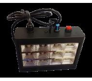AC-L196LED stroboskopas 12x 0.75W LED