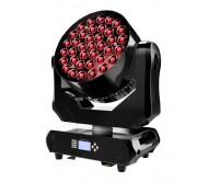 AC-L215 šv. efektas judančia galva 37x 15W RGBW LED