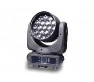 AC-L216ZOOM šv. efektas judančia galva 19x 30W RGBW LED