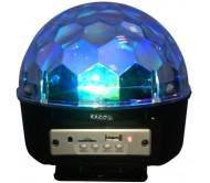 ASTRO-BAT-BT šv.efektas 5x RGBWA LED