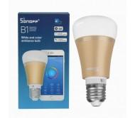 B1 išmani WiFi valdoma RGB lemputė - E27, 6W, 600lm
