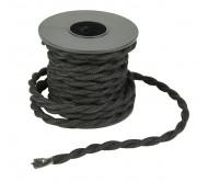B2WBK-K kabelis 2x0.75mm juodas 5m.