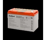 BAT0410 vožtuvų reguliuojamas rūgštinis akumuliatorius su duomenų monitoringu, IC-Power, USB 12V 100Ah