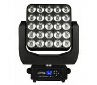BEAM WIZARD5X5 judanti galva - Beam prožektorius 25x 15W RGBW LED