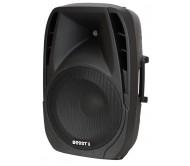 BOOST15A-BT garso kolonėlė su stiprintuvu, USB / Bluetooth grotuvu, 250W RMS, 15′′