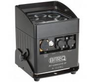BT-AKKULITE IP lauko dekoratyvinis LED šviesos efektas su akumuliatoriumi, 6x 10W RGBWA LED