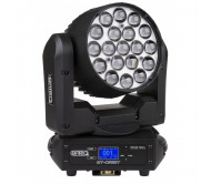BT-ORBIT judanti galva - Wash prožektorius 19x 15W RGBW LED