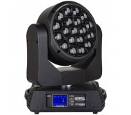 BTX-CIRRUS judanti galva - Wash prožektorius 19x 30W RGBW LED