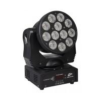 CLUBWASH2 šviesos efektas jundančia galva 12x 12W RGBWA-UV LED