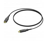 CLV220A/100 HDMI A (M) - HDMI A (M) optinis laidas, 100m