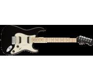 CONT STRAT HH MPL BLK MET elektrinė gitara