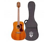 D-120 akustinė gitara su dėklu GUILD