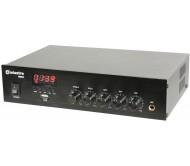DM25 100V stiprintuvas su mikšeriu ir USB/FM/Bluetooth 25W