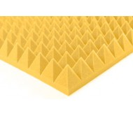 """Porolonas """"Piramidės"""" garso izoliacijai 2000 x 1200 x 70mm"""
