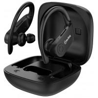 EAR SHOTS ACTIVE belaidės Bluetooth ausinės IPX4 su dėklu-įkrovikliu