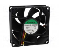EE80251B1-G99 ventiliatorius 12Vdc 80x80x25mm 1.7W 33dBA