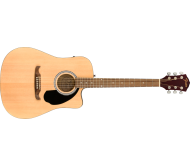 FA-125CE Dread, Natural WN elektro-akustinė gitara