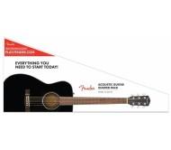 FENDER CC-60S CONCERT PACK akustinės gitaros rinkinys