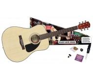 FENDER CD-60PACK NATURAL-DS-V2 akustinės gitaros rinkinys