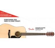 FENDER CD-60S DREADNOUGHT PACK akustinės gitaros rinkinys
