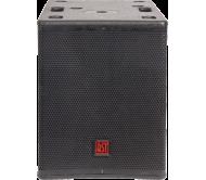 FIRST-SA12SDSP2 žemų dažnių garso kolonėlė su stiprintuvu ir DSP valdymu, 400Wrms 12''