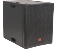 FIRST-SA15SDSP2 žemų dažnių garso kolonėlė su stiprintuvu ir DSP valdymu, 500Wrms 15''