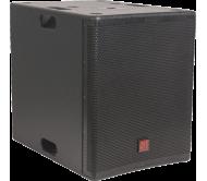 FIRST-SA18SDSP2 žemų dažnių garso kolonėlė su stiprintuvu ir DSP valdymu, 600Wrms 18''