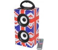 FREESOUND-UK nešiojamas grotuvas, USB, AUX, FM, Bluetooth
