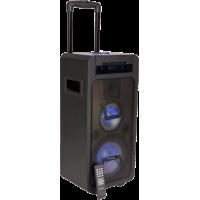 FREESOUND350-CD nešiojama įkraunama 3-jų juostų garso sistema su CD, USB, Bluetooth grotuvu