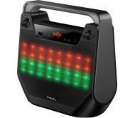 """FREESOUND40-BK nešiojama garso sistema Bluetooth/USB/SD + LED šv. Efektas, 4"""""""