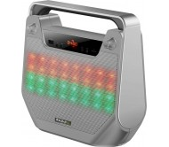 """FREESOUND40-SI nešiojama garso sistema Bluetooth/USB/SD + LED šv. Efektas, 4"""""""