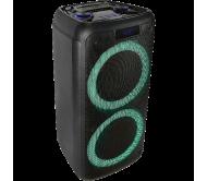 FREESOUND400 nešiojama garso sistema su akumuliatoriumi BLUETOOTH/USB/TF/RC, 2x 8′′